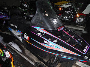 1995 Polaris Indy Sport 440 2 UP