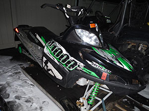 2008 Arctic Cat M1000