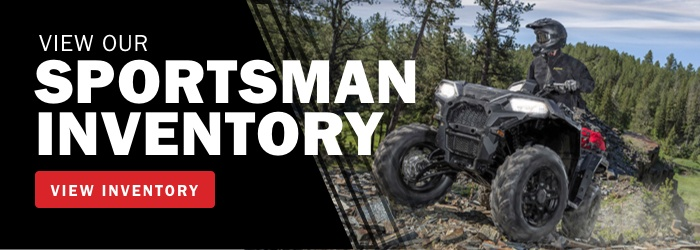 View Our Polaris Sportsman Inventory Now